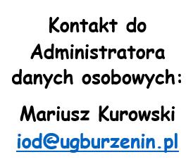 Kontakt do Administratora danych osobowych